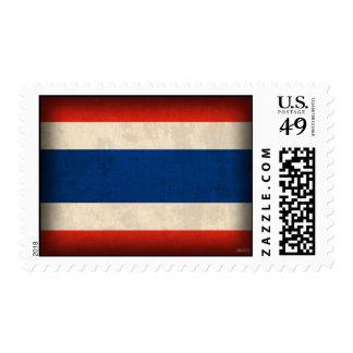 Sellos apenados bandera de Tailandia