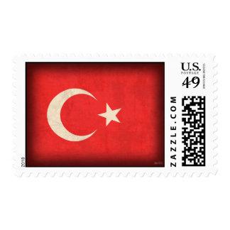 Sellos apenados bandera de Turquía