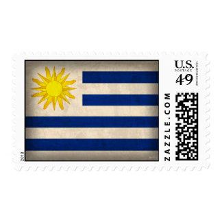 Sellos apenados bandera de Uruguay