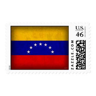 Sellos apenados bandera de Venezuela