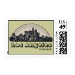 Sellos artísticos del horizonte de Los Ángeles Cal