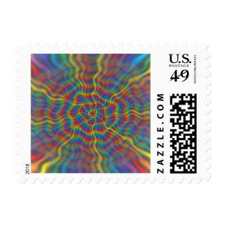 Sellos atómicos del arco iris