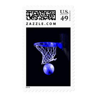 Sellos azules del baloncesto