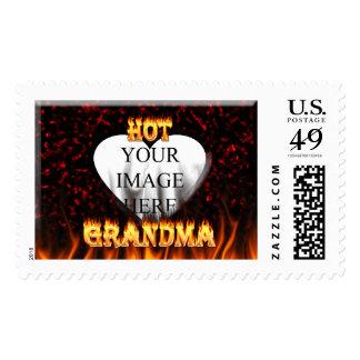 Sellos calientes del fuego de la abuela