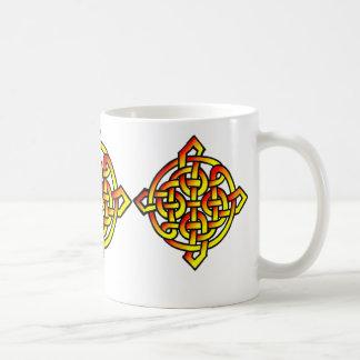 Sellos célticos taza de café