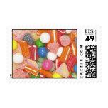 Sellos coloridos del caramelo