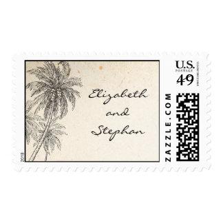sellos con las palmeras