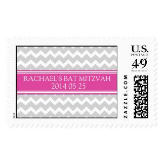 Sellos conocidos de encargo rosados de Mitzvah del