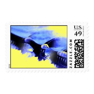 Sellos de aterrizaje de Eagle calvo