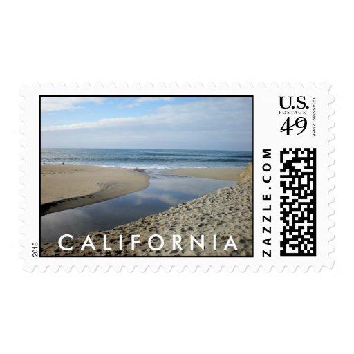 Sellos de California de la playa de Venecia