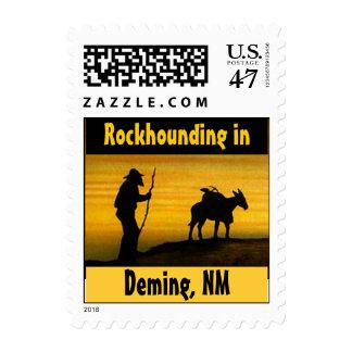 Sellos de Deming nanómetro del perro de roca de