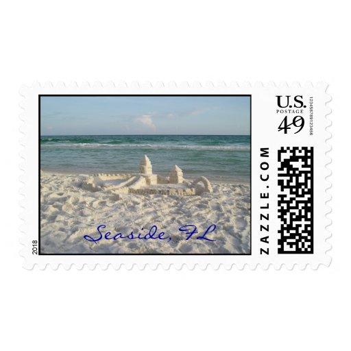 Sellos de encargo de la Florida de la playa