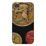 Sellos de Gil de Laval señor de Rais iPhone 4 Cárcasa