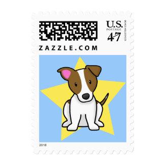 Sellos de Jack Russell Terrier de la estrella de