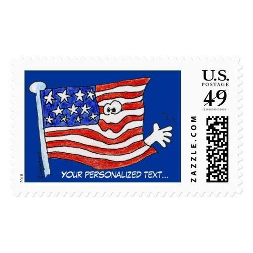 Sellos de la bandera americana