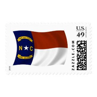 Sellos de la bandera de Carolina del Norte