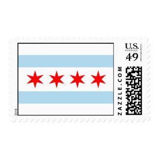 Sellos de la bandera de Chicago