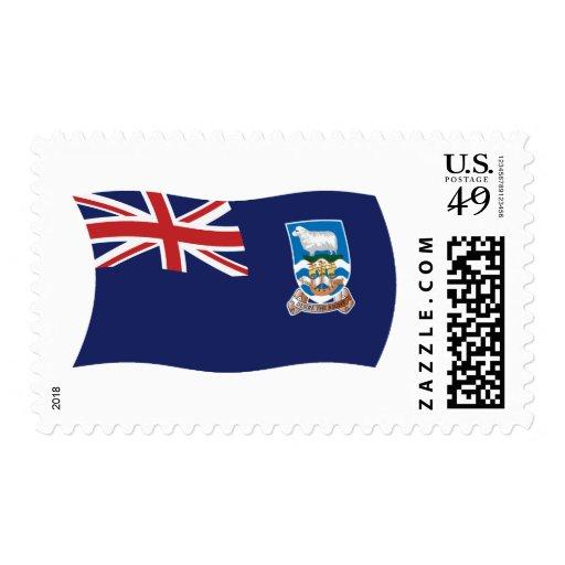 Sellos de la bandera de Islas Malvinas