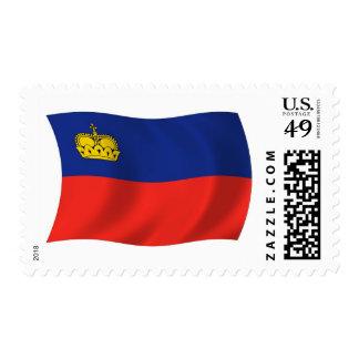 Sellos de la bandera de Liechtenstein