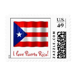 Sellos de la bandera de Puerto Rico