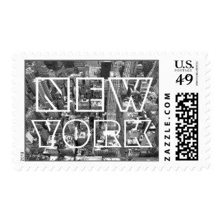 Sellos de la ciudad del sello de Nueva York NY