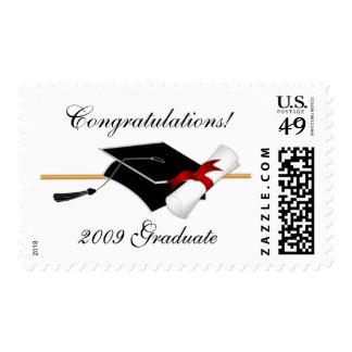 Sellos de la enhorabuena de la graduación