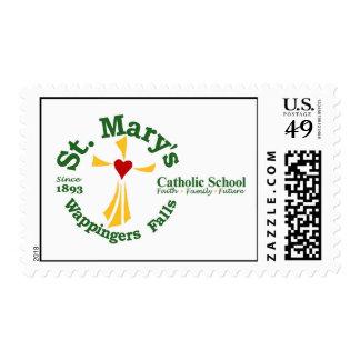 Sellos de la escuela católica de St Mary