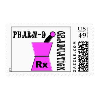 Sellos de la graduación de Pharm-D