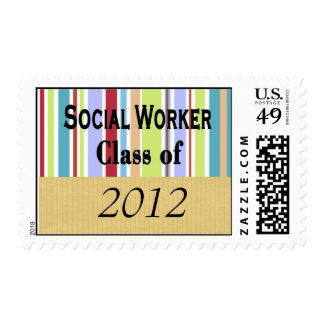 Sellos de la graduación del asistente social 2012