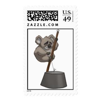 Sellos de la koala del washtub-Playin'