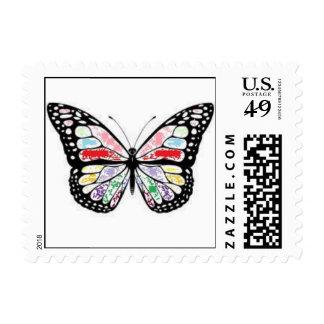 sellos de la mariposa