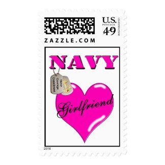 Sellos de la novia de la marina de guerra