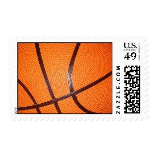 Sellos de la piel del primer del baloncesto
