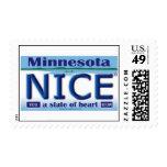 Sellos de la placa de Minnesota Niza