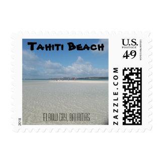 Sellos de la playa de Tahití