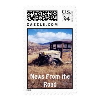 Sellos de la postal del viaje de RVers