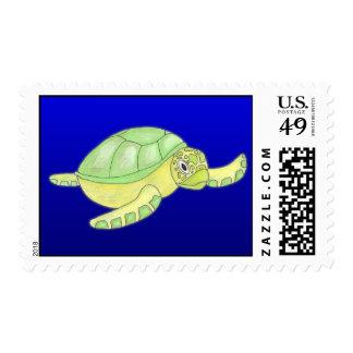 Sellos de la tortuga de mar