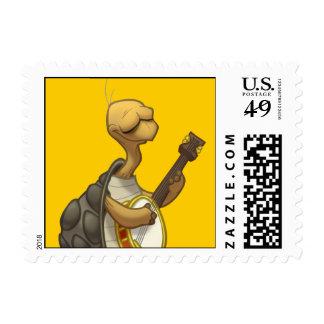 Sellos de la tortuga del Banjo-Strummin'