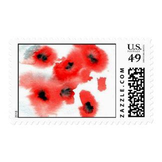 sellos de las amapolas