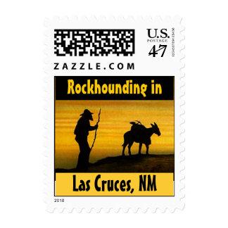 Sellos de Las Cruces nanómetro del perro de roca