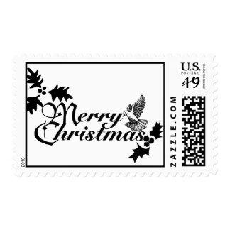 Sellos de las Felices Navidad