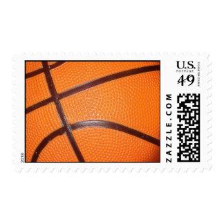 Sellos de las ilustraciones del baloncesto