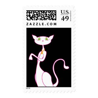 Sellos de Le Meow Blanc