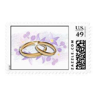 Sellos de los anillos de bodas