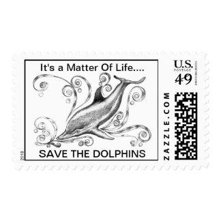 Sellos de los delfínes