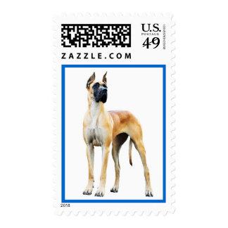 Sellos de los E.E.U.U. del perro de perrito de gre