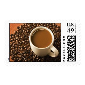 Sellos de los granos de café