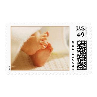 Sellos de los pies del bebé