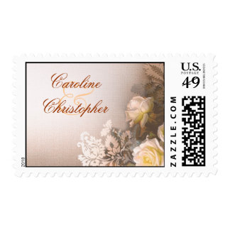 sellos de los rosas del vintage