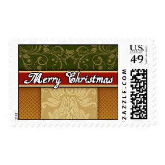 Sellos de lujo de las Felices Navidad